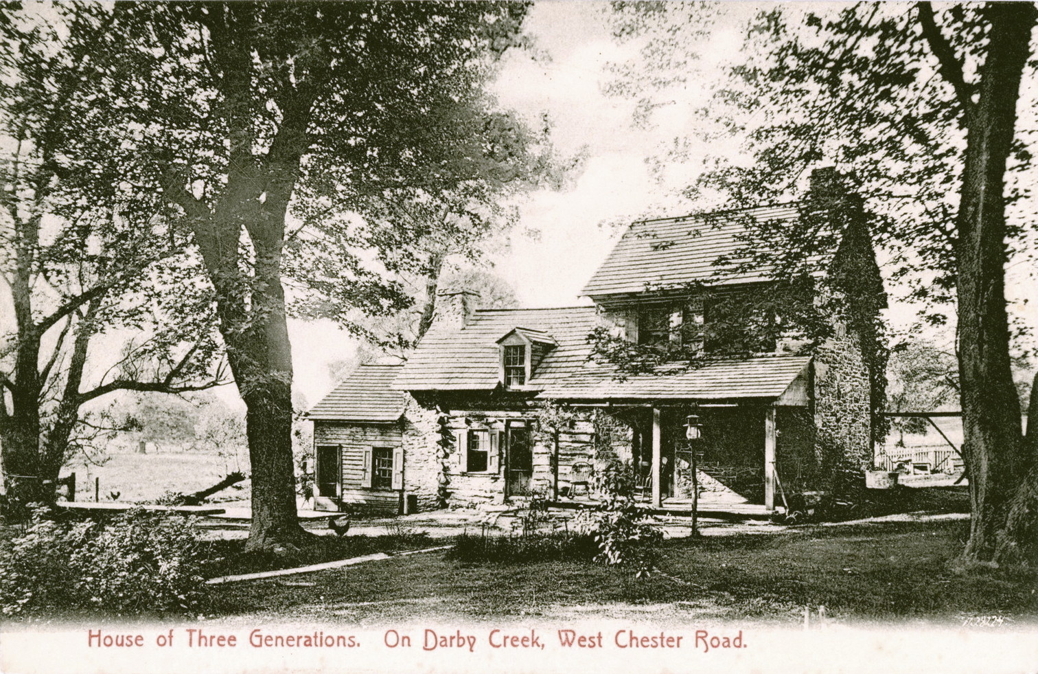 West Chester, PA - House of Three Generations on Darby Creek f